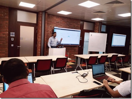 AI , Data Science and Machine Learning Workshop at Microsoft Sri Lanka.