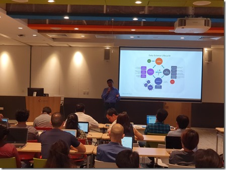Machine Learning Workshop at Microsoft Singapore2