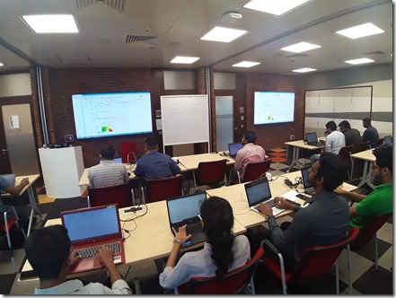 AI , Data Science and Machine Learning Workshop at Microsoft Sri Lanka.45
