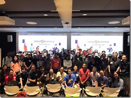 Global AI Bootcamp , Singapore.