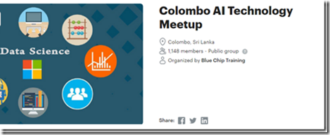 Cloud Machine Learning Workshop sri lanka