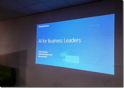 AI for Business Leaders Workshop Sri Lanka.