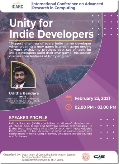Machine Learning and Game Development Workshops sri lanka